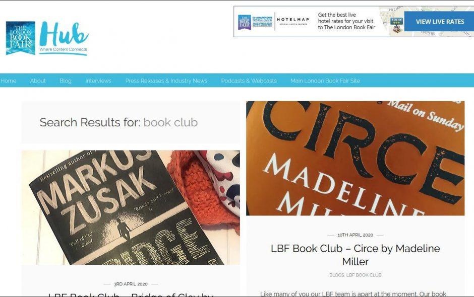 The London Book Fair gründet den LBF Book Club